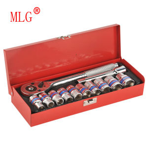 12PCS 1/2′′ Dr. Socket Wrench Set for Home and Auto Use (MLG-2024)