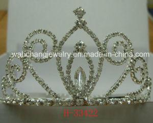Bridal Tiara, Wedding Tiara, Rhinestone Tiara, Pageant Tiara, 33422