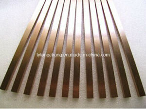 High Density Dia10mm Tungsten Copper Round Rod and Square Bar for Sale pictures & photos