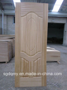 Hot New Design Jointed Melamine MDF Door Skin pictures & photos