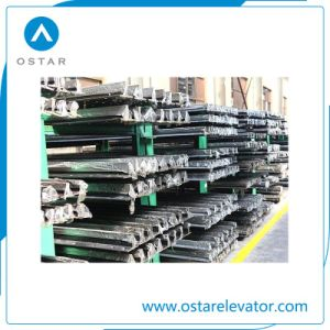 Elevator Shaft Components Machined Guide Rail with Bottom Price (OS21) pictures & photos