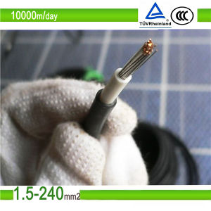 2X6mm2 /4mm2 Twin Core /AWG Solar PV Cable (TUV Approved) pictures & photos