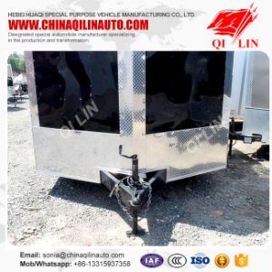 2 Axles Aluminum Alloy Van Trailer pictures & photos