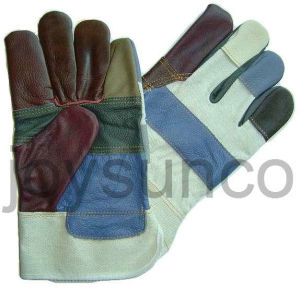 Furniture Leather Glove Industrial Safety Rigger Gloves (FWR4)