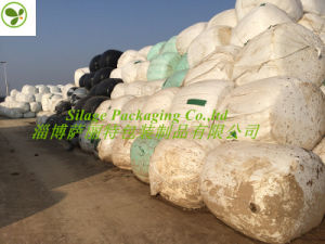 Stretch Film for Round Baling Silage 750/500/250X1500X25um for Australia Farm 2017 pictures & photos