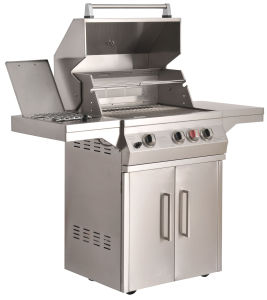 Ss Gas Grill 4-Burner BBQ pictures & photos