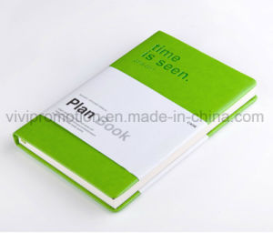 High Quality Custom Moleskine PU Leather Cover Agenda Notebook for Gifts (PUN402) pictures & photos
