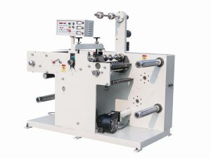 Die-Cutting with Slitting Machine