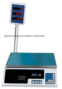 Economical Electronic Price Computing Scale 30kg Table Top Scale pictures & photos