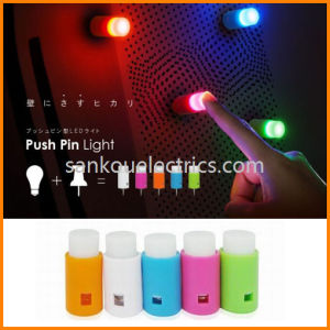 LED One Touch Night Light/Push Pin Light/ One Touch Wall Light