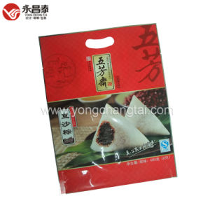 Food Plastic Packaging Retort Pouch for Zongzi with Transparent Window
