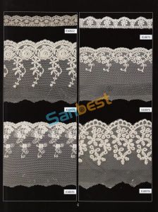 Different Designs High Quality Beautiful Mesh Lace for Women′s Shirts pictures & photos