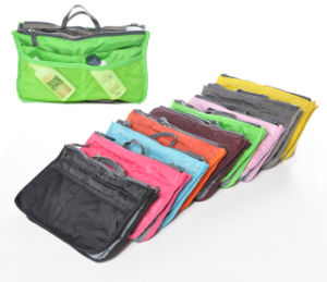 Multifunctional Sponge Inner Ladies Toilet Storage Beauty Makeup Foldable Cosmetic Pouch Bag pictures & photos