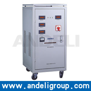 15kVA Three Phase Automatic Voltage Stabilizer (SVC (LED)) pictures & photos