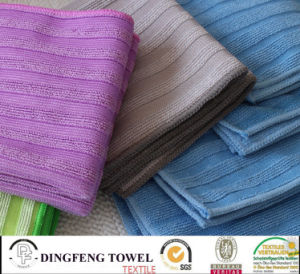 Wholesale Quick Dry Soft Yarn Dyed Kitchen/Floor/Table/ Furniture/ Car/ Tea Towels for Household Df-8835 pictures & photos