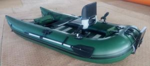 Inflatable Flying Fishing Pontoon Boat pictures & photos