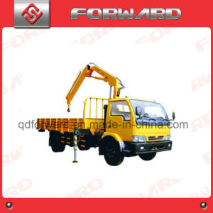 Hydraulic Folding Arm Crane Truck Mounted Crane pictures & photos