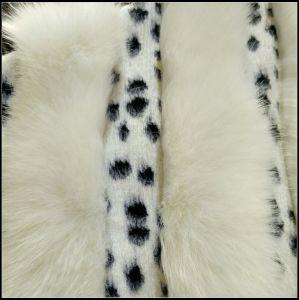 Wave Stripe Faux Fur pictures & photos
