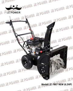 Snow Blower/Snow Thrower,6.5HP,with Tyre (JZ-7807N)