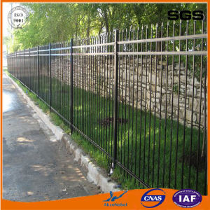 Galvanized Steel Spear Top Fence Panel
