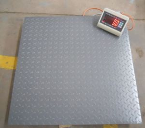 Floor Scale 1.2*1.2m 3t Floor Weighing Scale pictures & photos