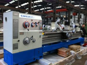 Cw6283c Manual Lathe Machine/ Gap Bed Lathe Machine