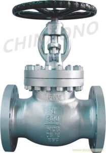 ANSI Cast Steel Flange Type Globe Valve pictures & photos