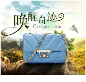 Hot Sale Ladies Fashion Casual Cross Body Sling Genuine Leather Messenger Bags pictures & photos