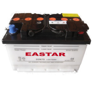 DIN75mf 12V 75ah Car Battery pictures & photos