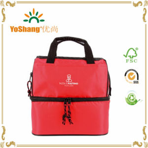 Promotional 2 Layer Lunch Cooler Bag pictures & photos