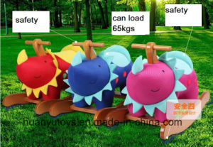 New Design Factory Supply Rocking Horse-Dino Rocker pictures & photos