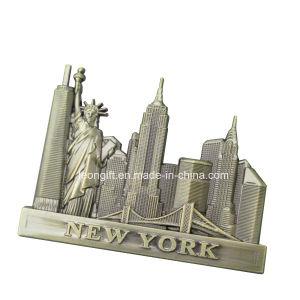 Zinc Alloy Metal Fridge Magnet for Souvenir pictures & photos