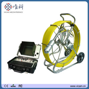 360 Degree Pan Tilt Push Rod Video Pipe Inspection Camera pictures & photos