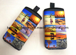 Full Color Printing Neoprene Phone Case, Neoprene Cell Phone Case pictures & photos