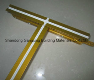 T Grid for PVC Gypsum Ceiling and Grg Ceiling Board pictures & photos