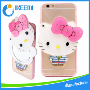 Hot Sale Lovely Cartoon Mirror Case for iPhone 6/6s/6plus pictures & photos