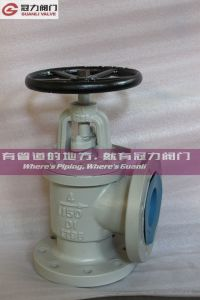 Anti Corrosion Ductile Iron Angle Globe Valve pictures & photos