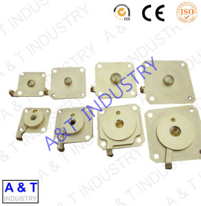AT Brass Parts CNC OEM ODM Machinery Parts Made of Brass pictures & photos