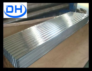 Dx51d Galvanized Corrugated Steel Sheet Roofing Sheet Used for Roofing pictures & photos
