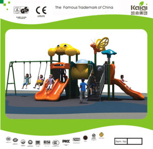Kaiqi Cartoon Series Small Swing Set with Slide for Kids (KQ20026A) pictures & photos