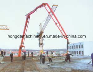 Hongda 32m Concrete Pump with Boom pictures & photos