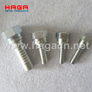 Good Quality Plate Steel Hydraulic Hose Fitting pictures & photos
