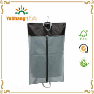 Eco-Friendly Waterproof Transparent PEVA Suit Bags/Garment Bag/Suit Covers pictures & photos