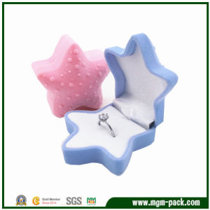 Lovely Christmas Starfish Plastic Jewelry Box pictures & photos