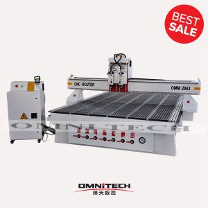 CNC Router with Double-Spindle for Woodworking--Omni 2043
