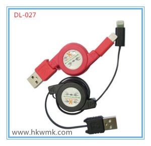 Charging Cable Data Cable Extendable for iPhone (DL-027)