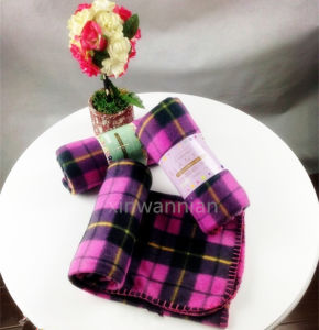 High Quality 100% Polyester Polar Fleece Blanket (XSM-SM009)