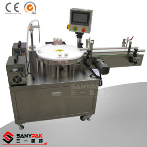 China Shenzhen Factory 2 Head Rotary Liquid Filling Machine pictures & photos