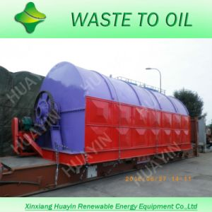 Scrap Tyre Pyrolysis Equipment