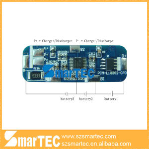 3s 11.1V Li-ion Battery PCBA Protection Circuit Board
